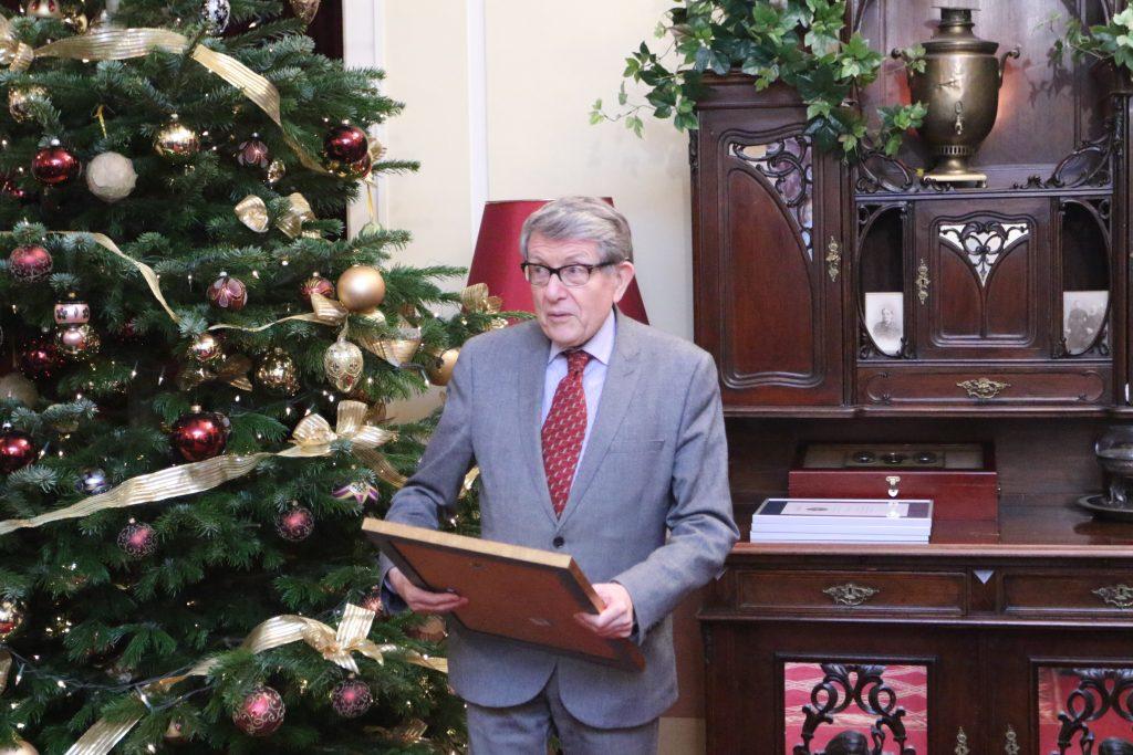 Szacowny Jubilat ambasador JM Nowak
